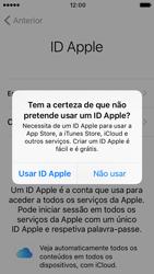 Apple iPhone 5s iOS 10 - Primeiros passos - Como ligar o telemóvel pela primeira vez -  20