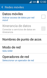 Samsung Galaxy Core Prime - Red - Seleccionar el tipo de red - Paso 8