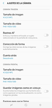 Samsung Galaxy S8 Plus - Funciones básicas - Uso de la camára - Paso 11
