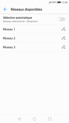 Huawei P10 - Android Oreo - Réseau - Sélection manuelle du réseau - Étape 9
