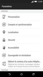 HTC One (M8) - Sécuriser votre mobile - Personnaliser le code PIN de votre carte SIM - Étape 4