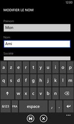 Nokia Lumia 1020 - Contact, Appels, SMS/MMS - Ajouter un contact - Étape 7