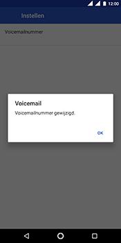 Nokia 5.1 - Voicemail - handmatig instellen - Stap 13