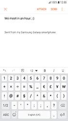 Samsung Galaxy Xcover 4 - E-mail - Sending emails - Step 11