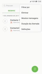 Samsung Galaxy S6 Edge - Android Nougat - Chamadas - Como bloquear chamadas de um número -  5