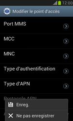 Samsung I8190 Galaxy S III Mini - MMS - configuration manuelle - Étape 15