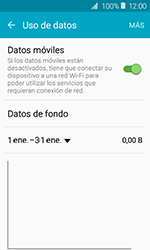 Samsung Galaxy J1 (2016) (J120) - Internet - Activar o desactivar la conexión de datos - Paso 5