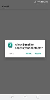 LG V30 - Email - Manual configuration IMAP without SMTP verification - Step 20