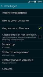 Samsung G900F Galaxy S5 - Contacten en data - Contacten kopiëren van SIM naar toestel - Stap 7
