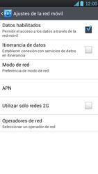 LG Optimus L9 - Internet - Activar o desactivar la conexión de datos - Paso 6