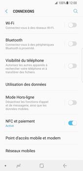 Samsung Galaxy S8 - Android Oreo - Internet - Désactiver du roaming de données - Étape 5