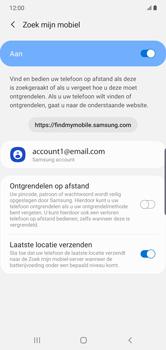 Samsung galaxy-note-10-plus-single-sim-sm-n975f - Beveiliging en ouderlijk toezicht - Zoek mijn mobiel inschakelen - Stap 8