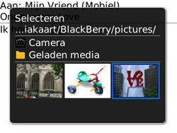 BlackBerry 8520 Curve - MMS - hoe te versturen - Stap 10