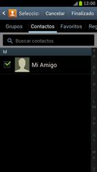 Samsung I9300 Galaxy S III - Mensajería - Escribir y enviar un mensaje multimedia - Paso 8
