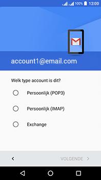 Acer Liquid Zest 4G Plus - E-mail - Handmatig instellen - Stap 11