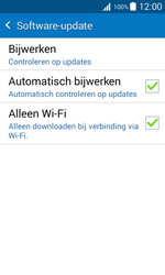 Samsung J100H Galaxy J1 - Software update - update installeren zonder PC - Stap 6
