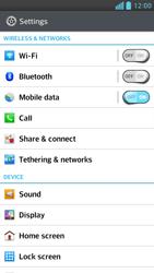 LG D505 Optimus F6 - Internet - Manual configuration - Step 4