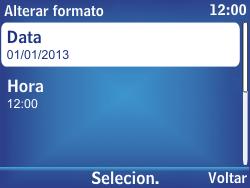 Nokia Asha 302 - Funções básicas - Como configurar data e hora - Etapa 10