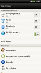 HTC S720e One X - Internet - Internet gebruiken in het buitenland - Stap 6
