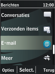 Nokia 206 Dual Sim - E-mail - Hoe te versturen - Stap 4