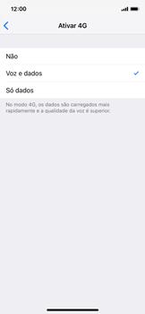 Apple iPhone XS - Internet no telemóvel - Como ativar 4G -  7