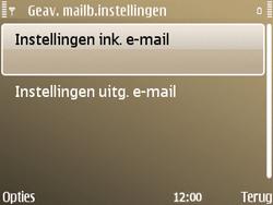 Nokia E72 - E-mail - Handmatig instellen - Stap 23