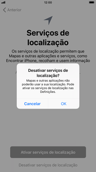 Apple iPhone 6s Plus - iOS 12 - Primeiros passos - Como ligar o telemóvel pela primeira vez -  22