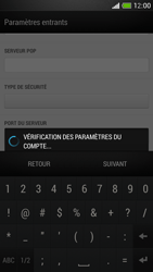 HTC One Mini - E-mail - Configuration manuelle - Étape 12