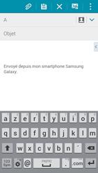 Samsung G850F Galaxy Alpha - E-mail - envoyer un e-mail - Étape 4