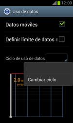 Samsung S7560 Galaxy Trend - Internet - Ver uso de datos - Paso 6