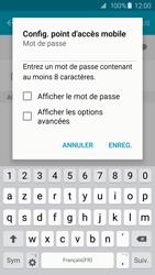 Samsung Galaxy S6 Edge - Internet et connexion - Partager votre connexion en Wi-Fi - Étape 9