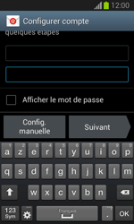 Samsung S7390 Galaxy Trend Lite - E-mail - Configuration manuelle - Étape 6