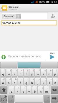 Alcatel Pop C9 - Mensajería - Escribir y enviar un mensaje multimedia - Paso 12