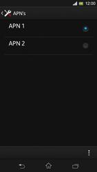 Sony C5303 Xperia SP - Internet - Handmatig instellen - Stap 16