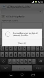 Sony Xperia L - E-mail - Configurar correo electrónico - Paso 16