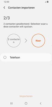 Samsung galaxy-s9-sm-g960f-android-pie - Contacten en data - Contacten kopiëren van SIM naar toestel - Stap 11