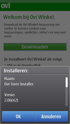 Nokia C7-00 - Applicaties - Applicaties downloaden - Stap 5