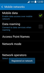 Samsung G318H Galaxy Trend 2 Lite - Network - Usage across the border - Step 10
