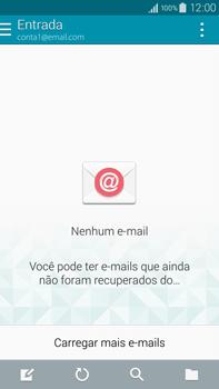 Samsung N910F Galaxy Note 4 - Email - Como configurar seu celular para receber e enviar e-mails - Etapa 4