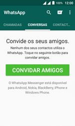 """Alcatel Pixi 4 (4"""") - Aplicações - Como configurar o WhatsApp -  15"""