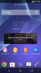 Sony Xperia M2 - Primeros pasos - Activar el equipo - Paso 1