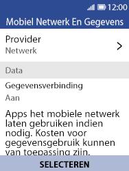 Nokia 8110 - Netwerk selecteren - Handmatig een netwerk selecteren - Stap 6