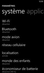Nokia Lumia 625 - Aller plus loin - Désactiver les données à l'étranger - Étape 4