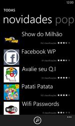Nokia Lumia 1020 - Aplicativos - Como baixar aplicativos - Etapa 8