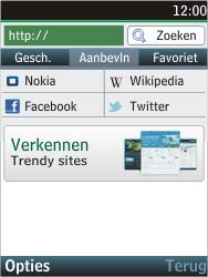 Nokia C2-05 - Internet - Internetten - Stap 4