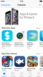 Apple iPhone 6 iOS 8 - Applications - Downloading applications - Step 4