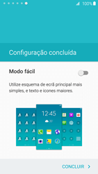 Samsung Galaxy S6 Edge - Primeiros passos - Como ligar o telemóvel pela primeira vez -  21