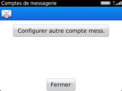 BlackBerry 9720 - E-mails - Ajouter ou modifier un compte e-mail - Étape 13