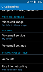 Samsung G355 Galaxy Core 2 - Voicemail - Manual configuration - Step 5