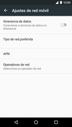 Motorola Moto G 3rd Gen. (2015) (XT1541) - Red - Seleccionar una red - Paso 6